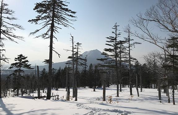 #02 阿寒カルデラの峰を歩くマウンテンピークス・スノートレック